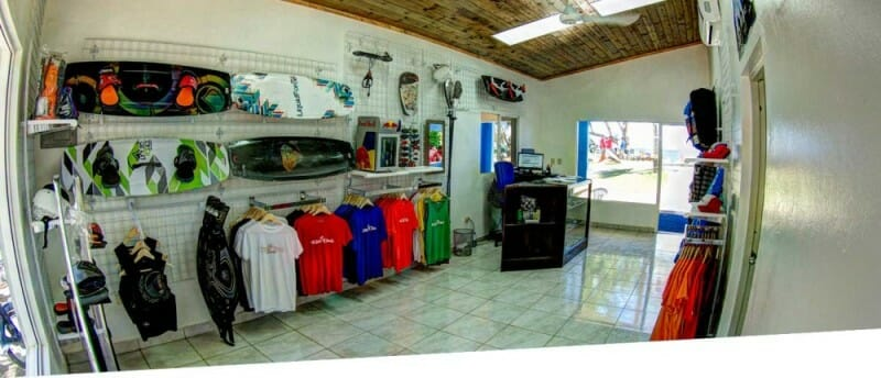 Kiteboarding shop Cabarete